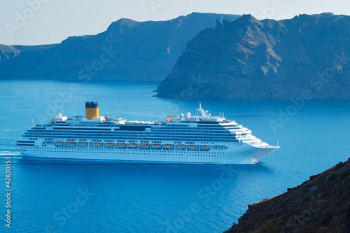 Cadres-photo bureau Caraibes Luxury Cruise Ship