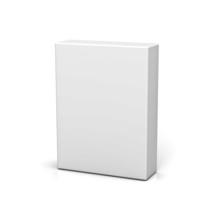 Blank Box On White Background ...