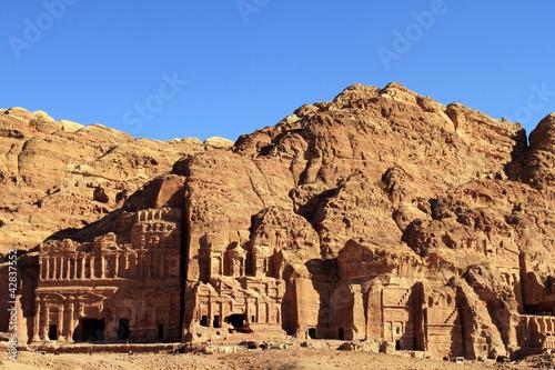 Fotografie, Obraz  Petra, Lost rock city of Jordan.