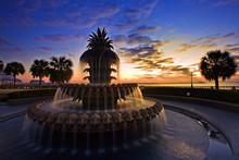 Pineapple Fountain Charleston, South Carolina