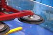 Leinwanddruck Bild - Manipulator for of moving of glass