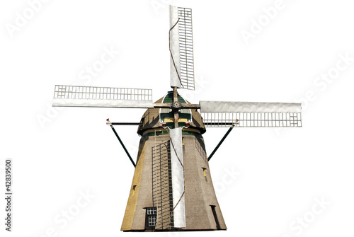 Windmill isolated