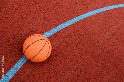 Fototapeta Piłka do koszykowki obraz
