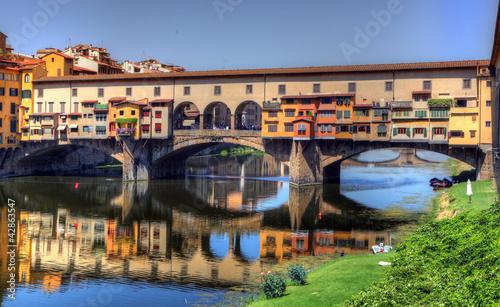 Foto op Plexiglas Florence Ponte Vecchio - Florence