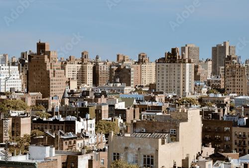 New York City Urban Scene Poster