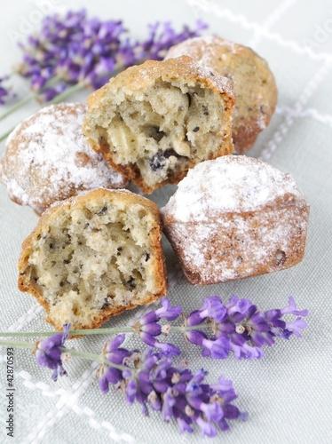 lavender muffins - 42870593