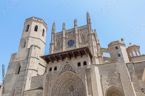 Santa Maria Cathedral at Huesca, Spain