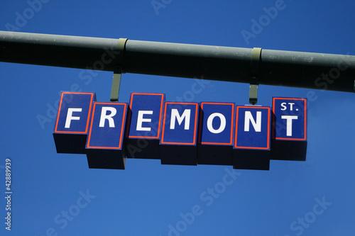 Poster Las Vegas Las Vegas Famous Fremont Street Sign