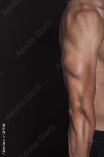 Obraz Napięty triceps - fototapety do salonu