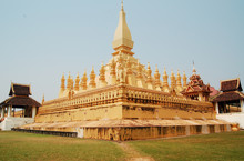 Pha Thad Luang In Vientiane,Laos