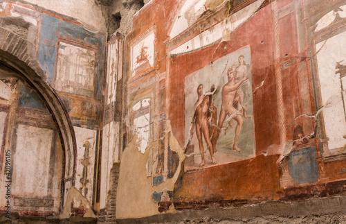 Fotografie, Obraz  Herculaneum Fresco