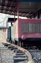 Steam Locomotive On Kiev Child...