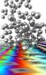 abstrait - billes chrome 1