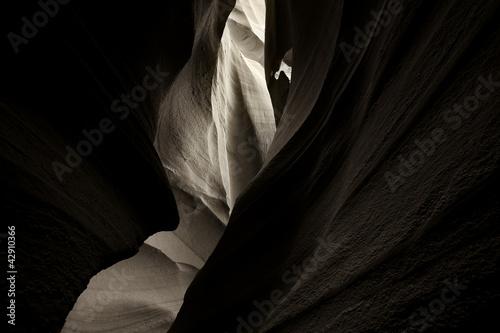 Photo antelope canyon, bw