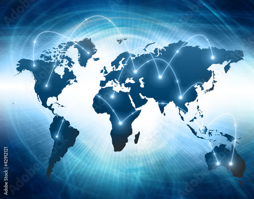 Best Internet Concept of global business from concepts series #42912121