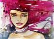 fantazyjny portret kobiety