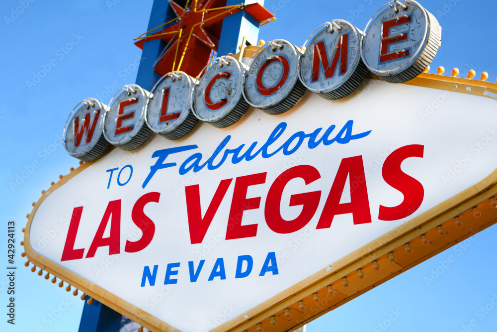 Welcome to Las Vegas Sign Poster | Sold at Europosters
