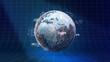 Internet Sicherheit Überwachungs Konzept 3D