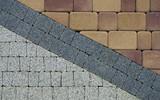 Fototapeta Kamienie - pattern on the pavement