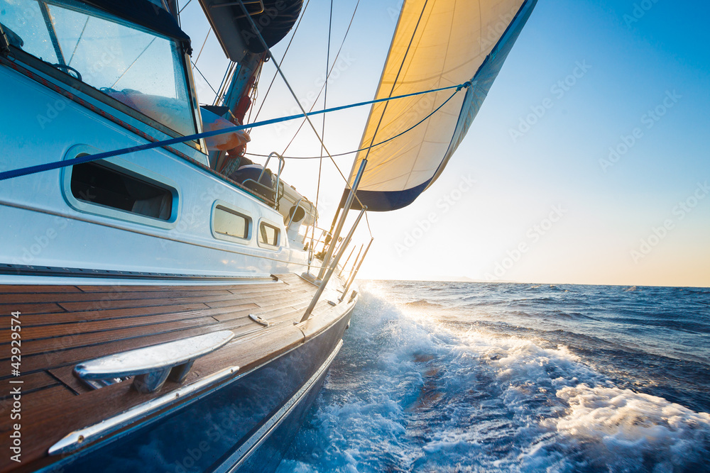 Fototapeta Sailing