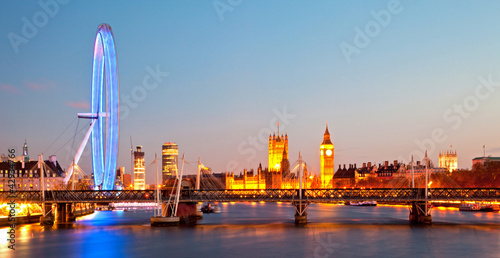 Photo London Eye Panorama