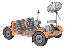 Apollo Lunar Roving Vehicle (m...