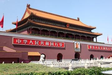 Fototapeta Tienanmen Gate (The Gate of Heavenly Peace)