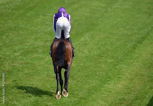 Photo  Horse Racing jockey