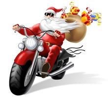 Babbo Natale Motorizzato