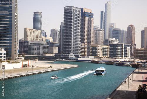 Obrazy na płótnie Canvas Dubai Marina cityscape, UAE