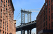 """Manhattan bridge"" vu de Dumbo (Brooklyn)"