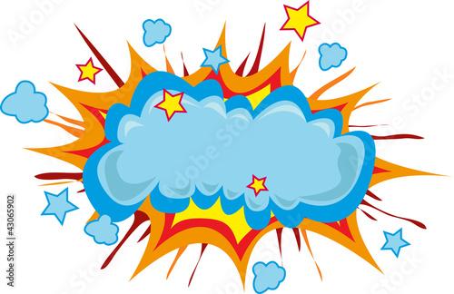 Slika na platnu esplosione