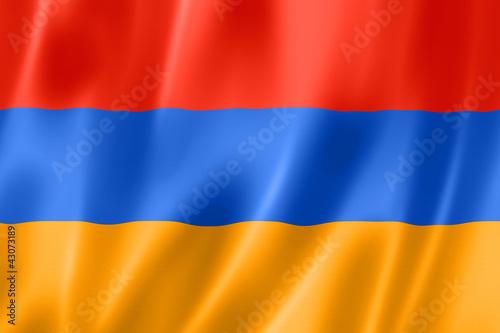 Photo Armenian flag