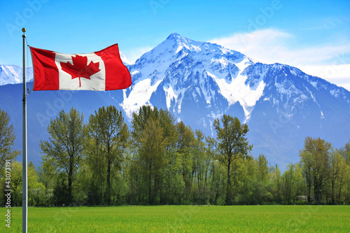 Spoed Foto op Canvas Canada Rocky mountains