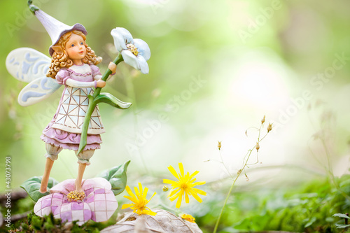 Photo Stands Fairies and elves fata nel bosco