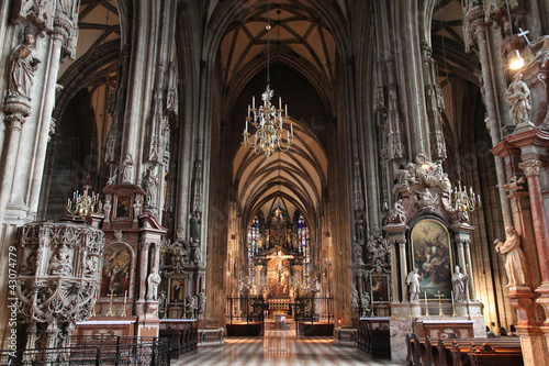 Vienna cathedral - Stephansdom Poster