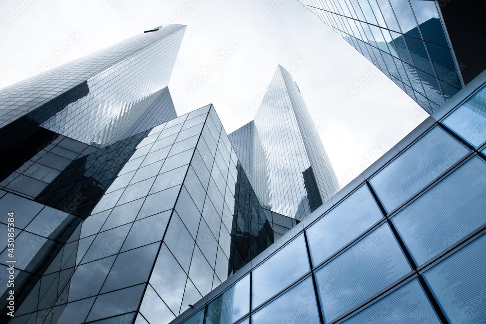 Fototapeta Hochhäuser - Banken