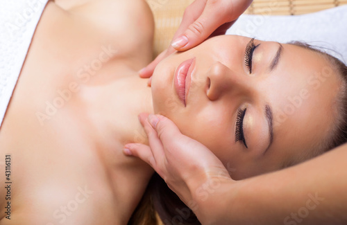 Fotografie, Obraz  Facial massage
