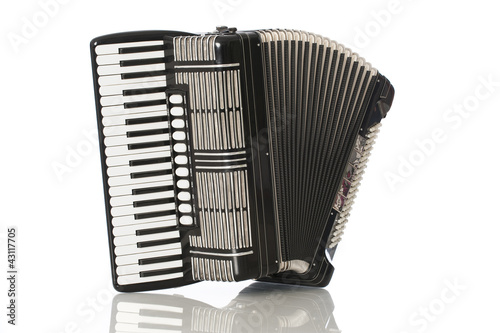Fotografía Black accordeon - Schwarzes Akkordeon