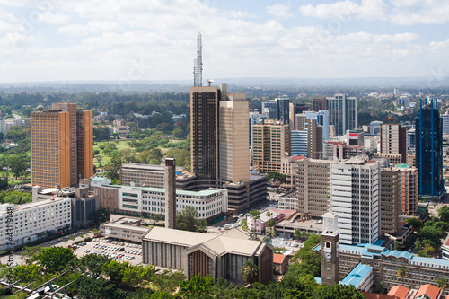 Staande foto Afrika Nairobi, the capital city of Kenya