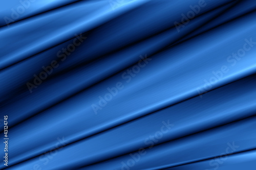 Photo  Tissu Bleu