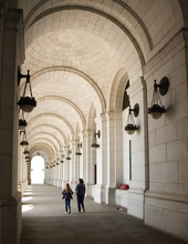 Archways At Union Station In Washington DC