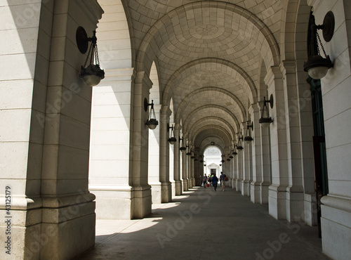 Archways at Union Station in Washington DC Wallpaper Mural