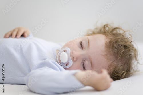 Fotografie, Obraz  bebé dormido