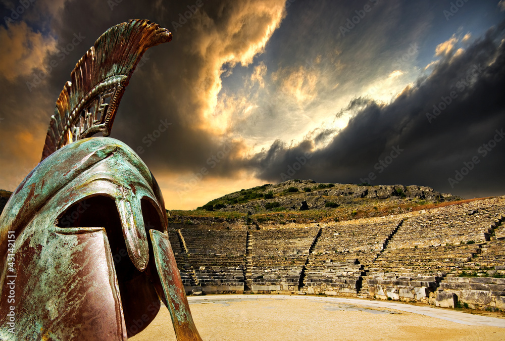 Fototapeta ancient greece concept