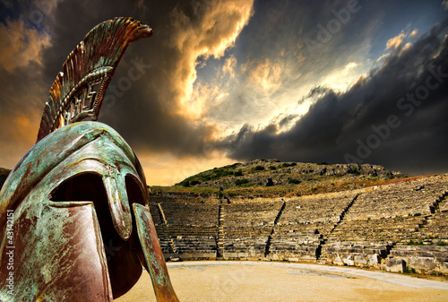 Fototapeta ancient greece concept obraz
