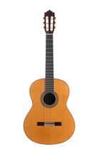 Acoustic Guitar On White Backg...