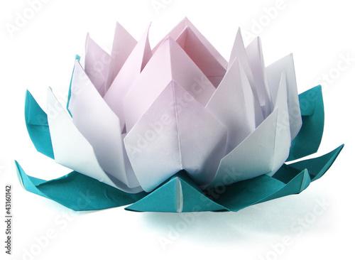 Origami lotus