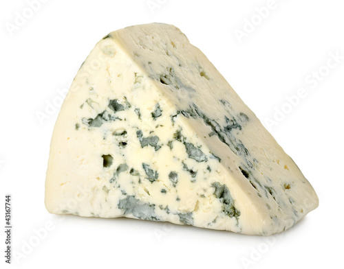 Fotografie, Obraz  Blue cheese isolated