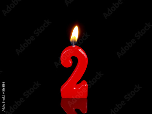 Birthday Anniversary Candles Showing Nr 2
